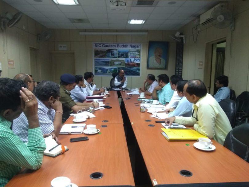 डीएम बीएन सिंह ने दीपावली को प्रदूषण रहित मनाने के संबंध में संबंधित अधिकारियों को दिए आवश्यक दिशा निर्देश