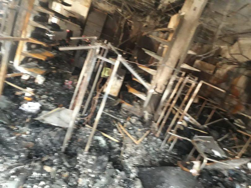 ग्रेटर नोएडा में शार्ट सर्किट से 15 लगी आग, लाखों का माल जलकर हुआ ख़ाक ग्रेटर नोएडा में शार्ट सर्किट से 15 लगी आग, लाखों का माल जलकर हुआ ख़ाक