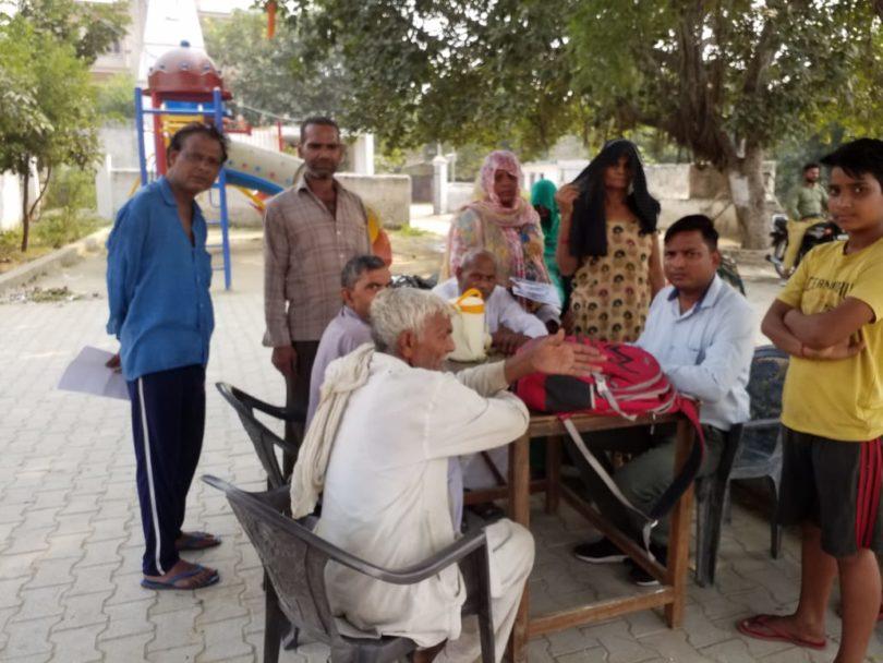 एकीकृत पेंशन शिविर आयोजित के माध्यम से पात्र लाभार्थियों को पहुंचाया गया लाभ