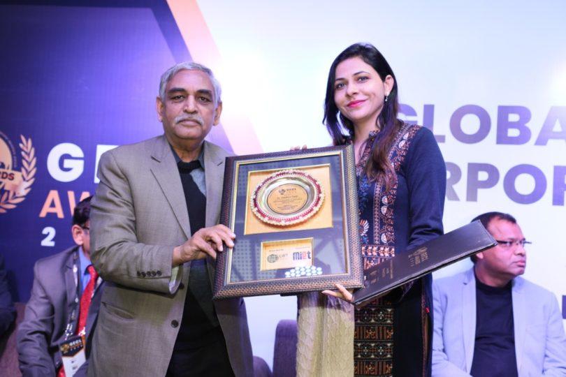 गौतम बुद्ध विश्वविद्यालय की प्रोफेसर हुई सम्मानित