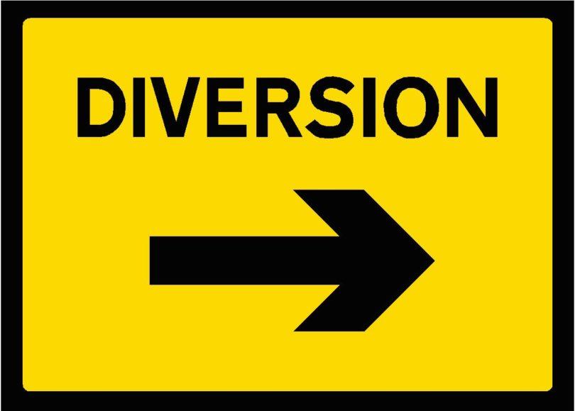 ट्रैफिक गति सामान्य रूप से चलाने के लिए आज पर्थला चौक से किया जाएगा ट्रैफिक डायवर्जन