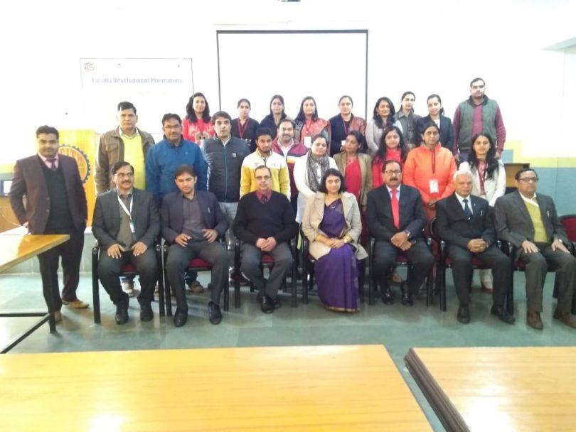 ग्रेटर नोएडा के आईटीएस कॉलेज में उद्यमिता विकास पर संकाय विकास कार्यक्रम का समापन