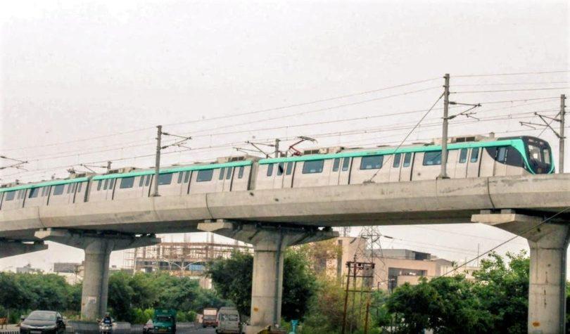 एक्वा लाइन मेट्रो जल्द शुरू होने की जगी आस, 15 जनवरी को हो सकता है उद्घाटन