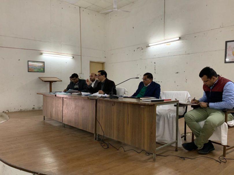 प्रधानमंत्री किसान सम्मान निधि योजना का लाभ पहुँचाने के लिए अधिकारियों सम्बन्धित का प्रशिक्षिण सम्पन्न