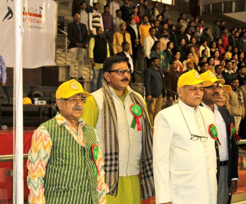 गौतमबुद्ध यूनिवर्सिटी में शौर्योत्सव खेल प्रतियोगिता में हुए पुरुस्कार वितरण