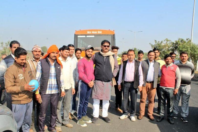 आज से रबूपुरा से शुरू हुई बस सेवा, दिल्ली कश्मीरी गेट तक जाएगी बस