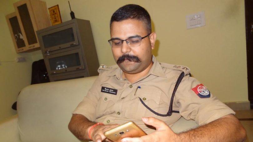 फर्जी आईएफएस गिरफ्तार, एसएसपी को धमकाया तो पकड़ी गई