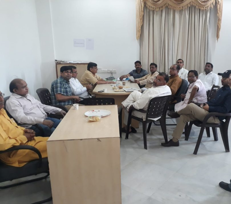 चुनावों की तैयारियों को लेकर बीजेपी लोकसभा संचालन समिति ने की बैठक